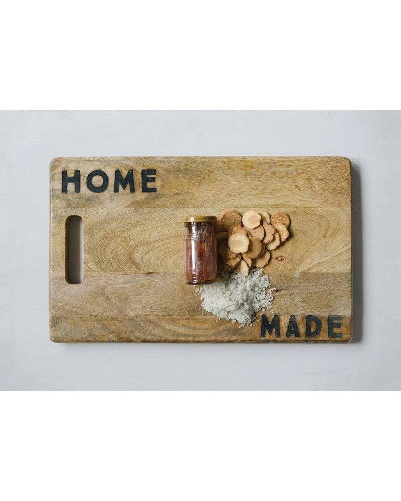 creative co-op Cutting Board Home Made