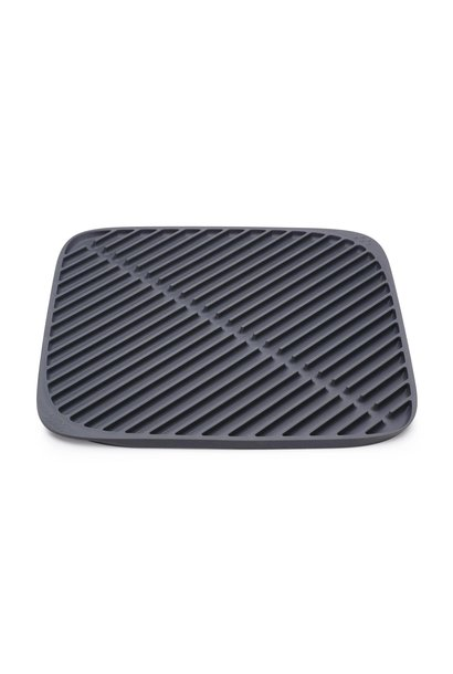 Flume Dish Draining Rack Large Grey