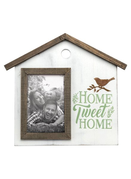 Foreside Home & Garden 4x6 Home Tweet Home Frame