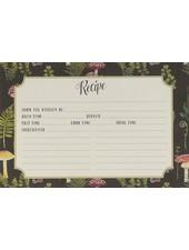 CR Gibson Recipe Cards Botanical