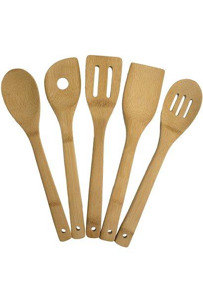 Bamboo Utensil Set of 5