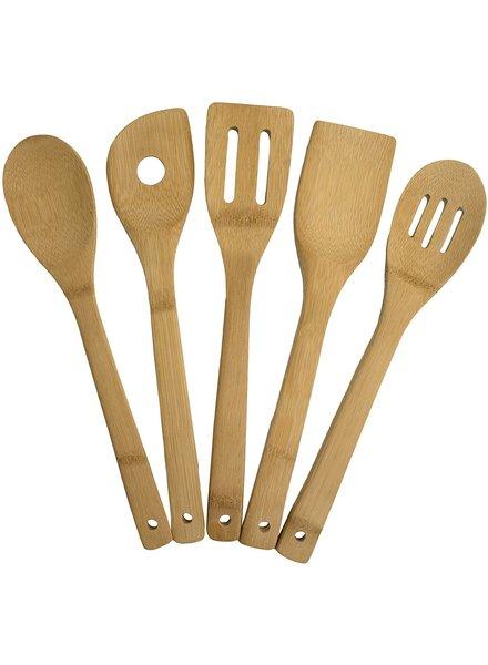 Totally Bamboo Bamboo Utensil Set of 5
