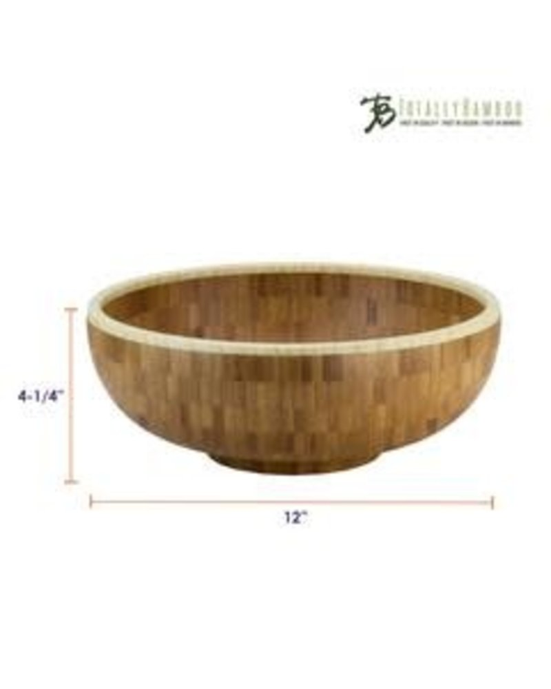 Totally Bamboo Bowl Bamboo Classic 12""
