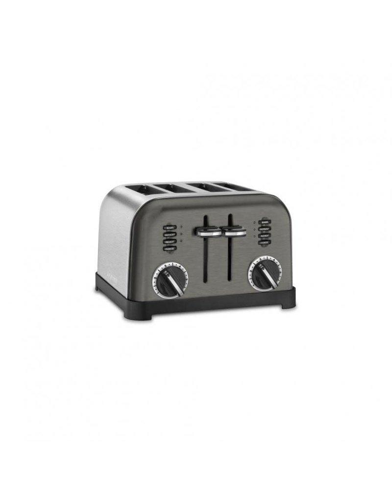 Cuisinart Toaster 4 Slice Metal Blk Stnl