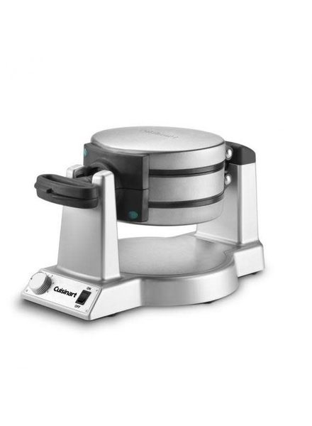 Cuisinart Waffle Maker Double Belgian Round Rotating