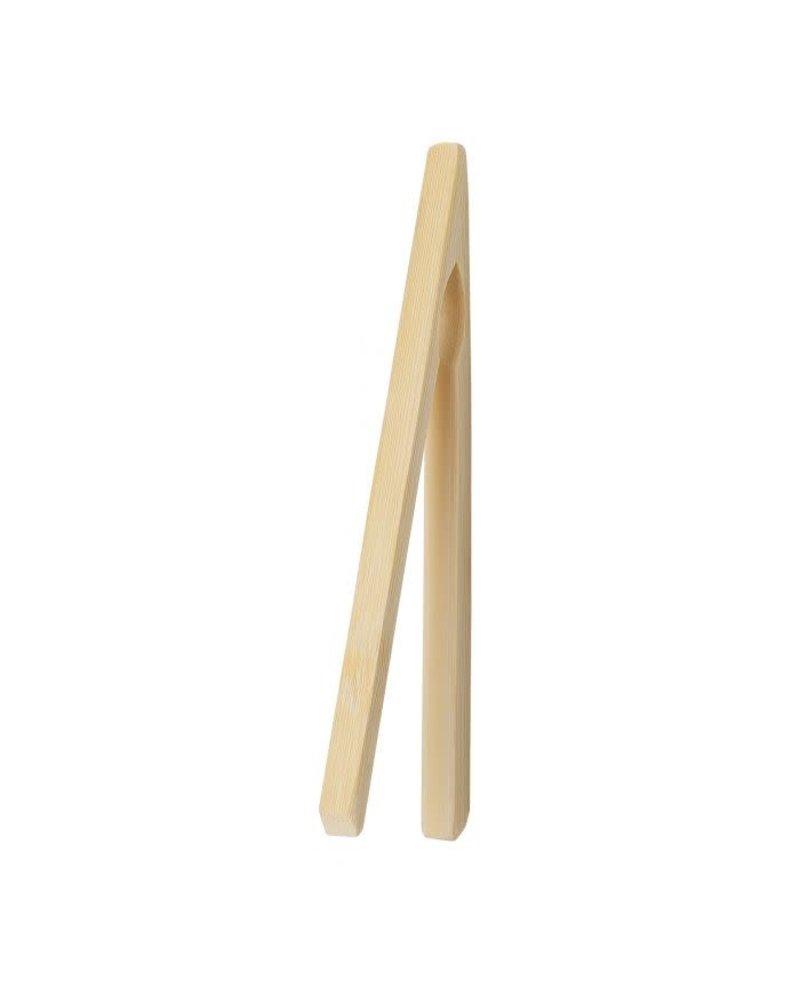 "Harold Toast Tong Bamboo 6.5"""