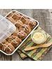 Nordic Ware Quarter Sheet Cake Pan with Storage Lid