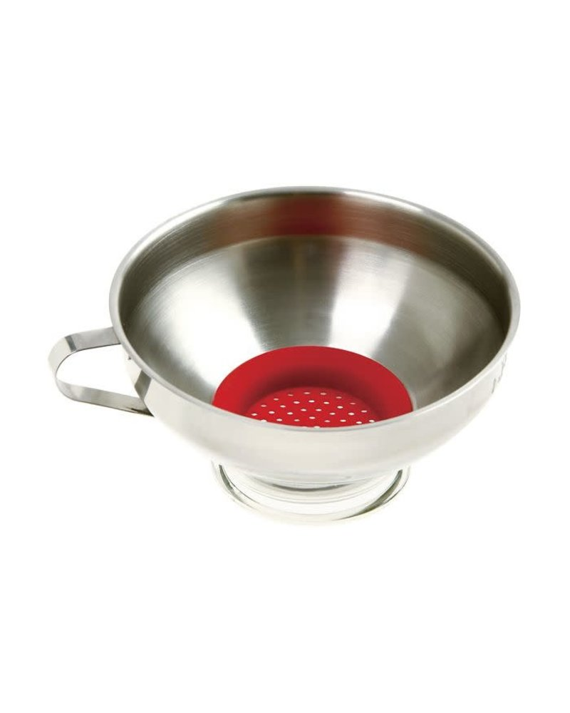 Norpro Funnel Wide Mouth w/ Strainer