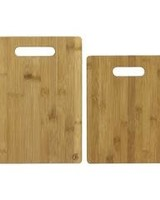 Totally Bamboo Cutting Board Bamboo Set of 2