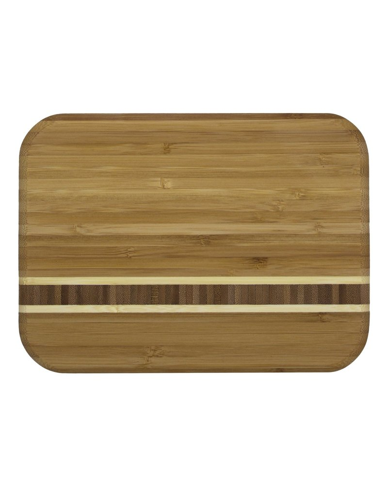 "Totally Bamboo Cutting Board Barbados 9"" x 6.5"" x .625"""