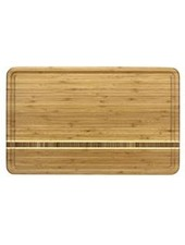"Totally Bamboo Cutting Board Dominica 20"" x 12.5"" x .75"""