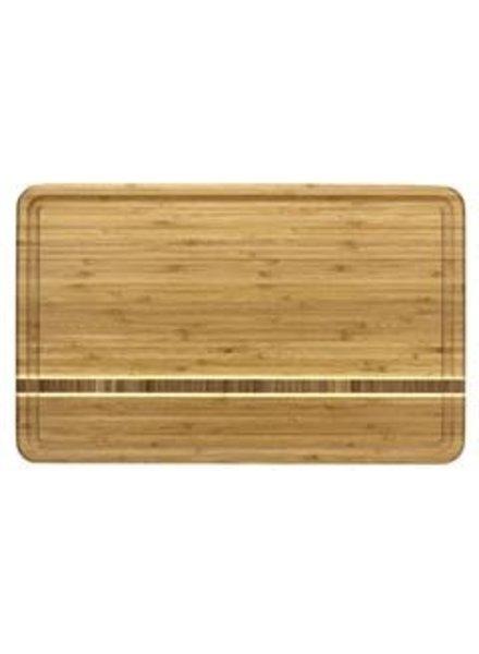 "Totally Bamboo Cutting Board Dominica 20"" x 12.5"" x .75"""