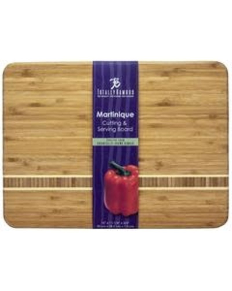 "Totally Bamboo Cutting Board Martinique 15"" x 11"" x .75"""