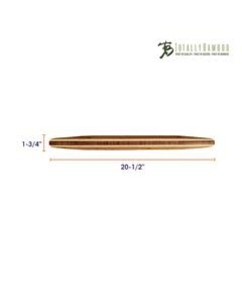 Totally Bamboo Rolling Pin Tapered Bamboo