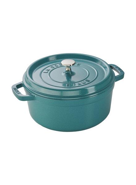 Staub STAUB Cocotte Rnd 4QT Turquoise