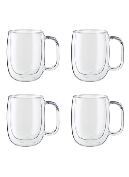 Zwilling Coffee Mug Dbl Wall S/4