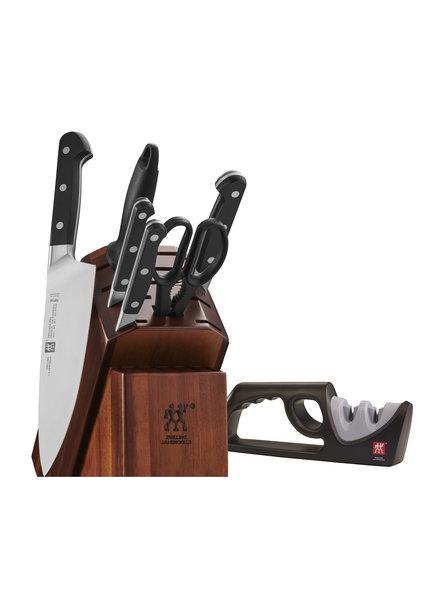 J.A. Henckels ZPRO 7 Piece Knife Set W/sharp