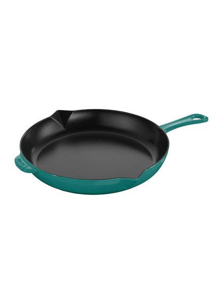 "Staub STAUB Fry Pan 10""  Turquoise"