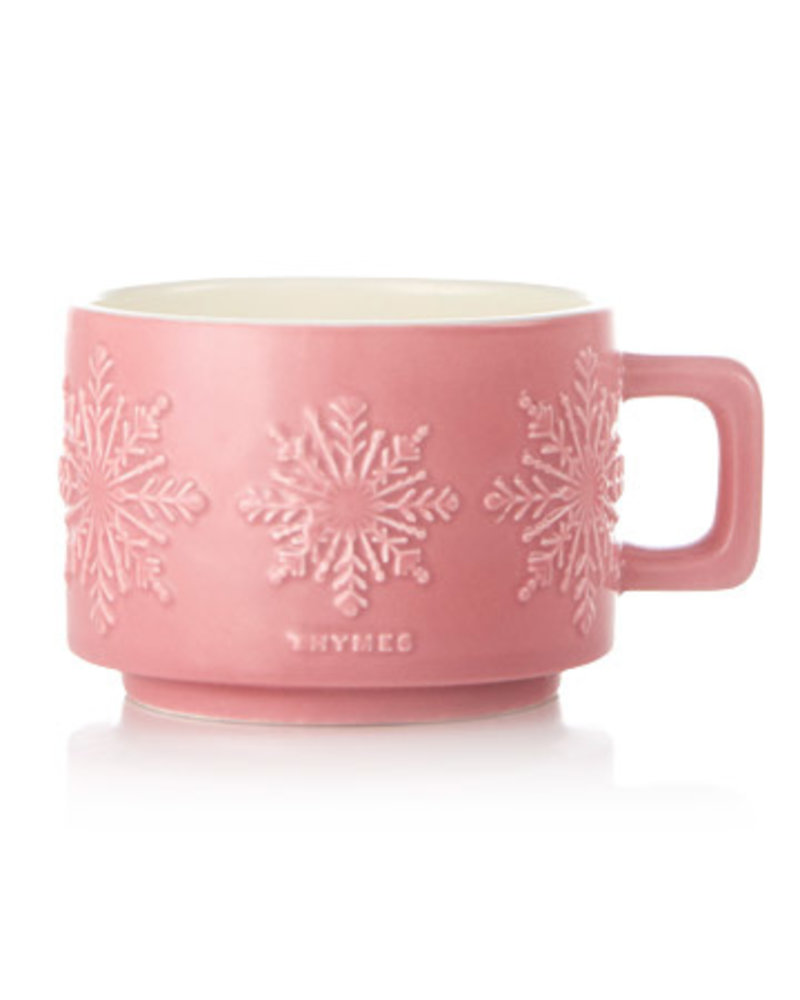 Thymes Raspberry Hot Cocoa Candle SML
