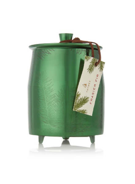 Thymes Frasier Fir Candle Green Metal 20oz