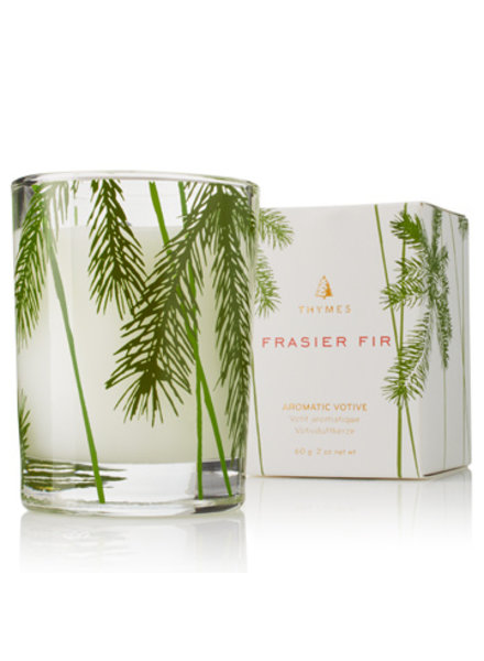 Thymes Frasier Fir  Votive Candle Pine Needle