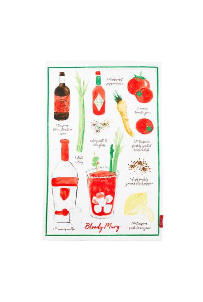 Tea Towel Bloody Mary
