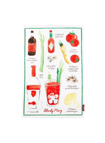Stonewall Kitchen Tea Towel Bloody Mary