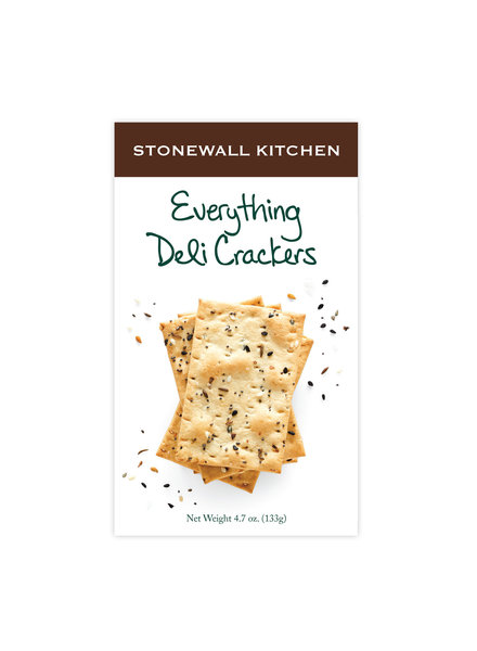 Stonewall Kitchen Everything Deli Crackers
