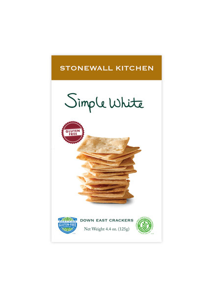 Stonewall Kitchen Crackers Gluten Free Simple White