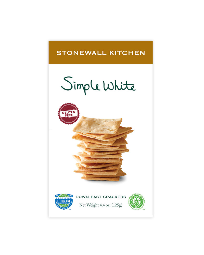 Stonewall Kitchen Crackers Gluten Free Simple White