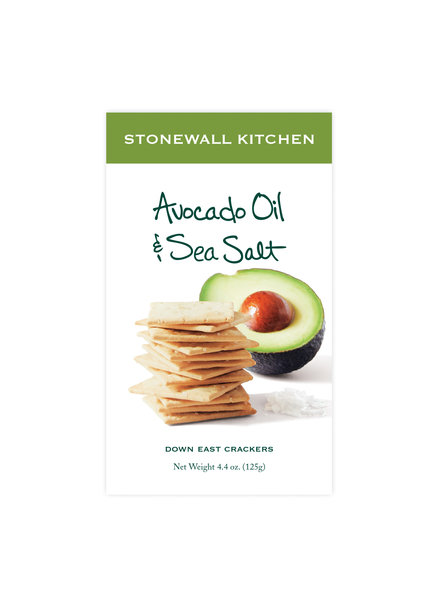 Stonewall Kitchen Avocado Oil & Sea Salt Crackers