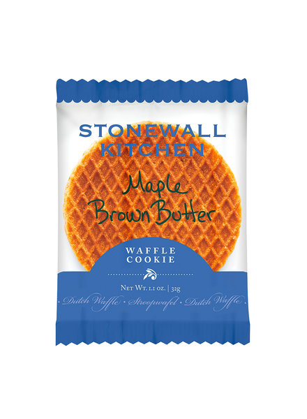 Stonewall Kitchen Waffle Cookie Maple Brown Butter