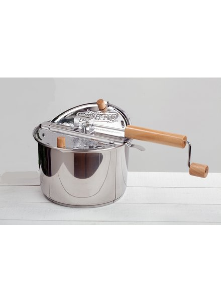 Wabash Valley Farms Whirley Pop Popcorn Maker Stainless Steel