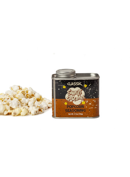Wabash Valley Farms Popcorn Seasoning Retro Tin Sweet Caramel
