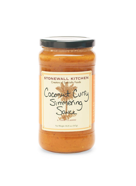 Stonewall Kitchen Simmering Sauce Coconut Curry