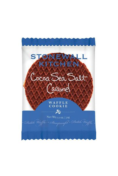 Waffle Cookie Cocoa Sea Salt Caramel