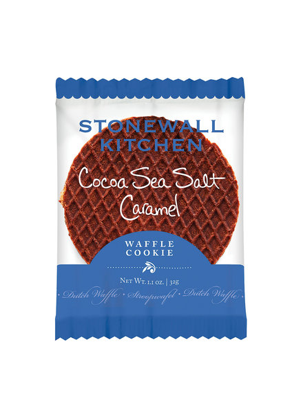 Stonewall Kitchen Waffle Cookie Cocoa Sea Salt Caramel