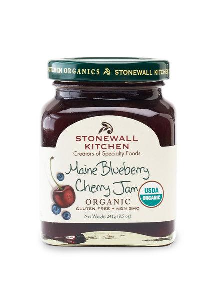 Stonewall Kitchen Jam Organic Blueberry Cherry