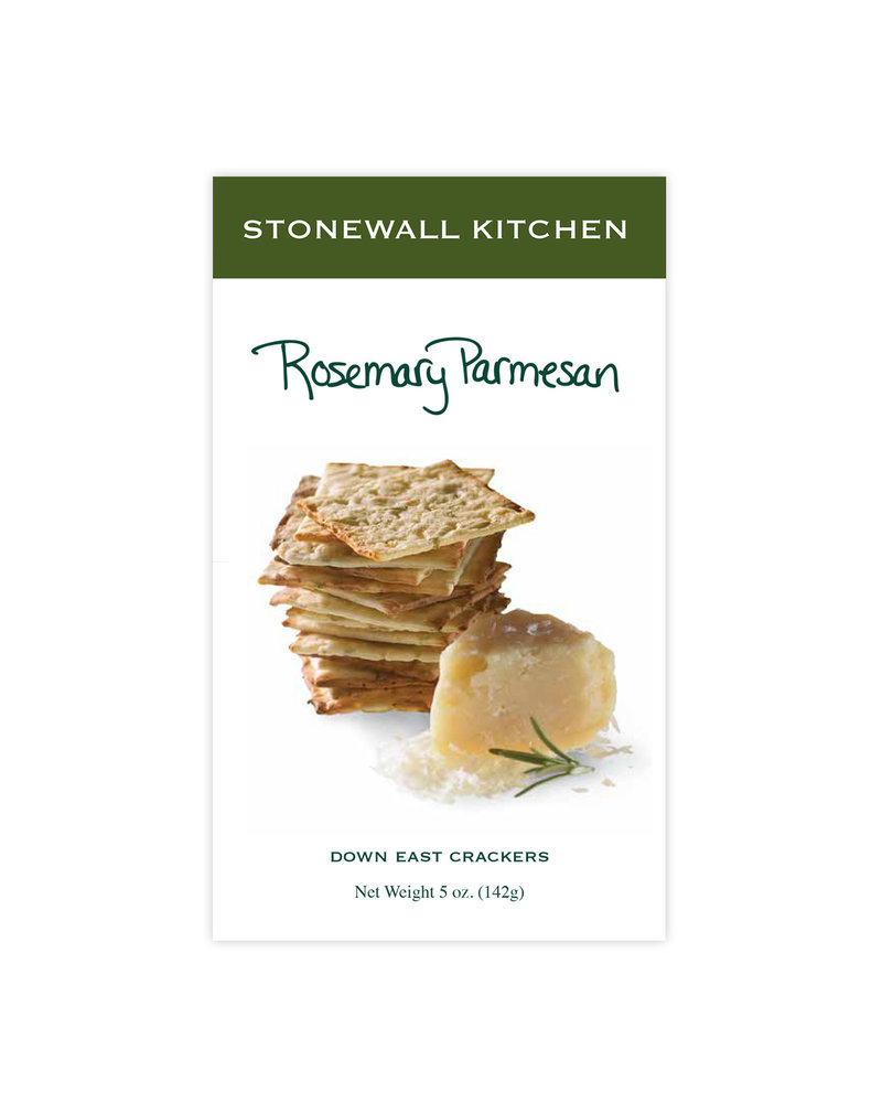 Stonewall Kitchen Crackers Rosemary Parmesan