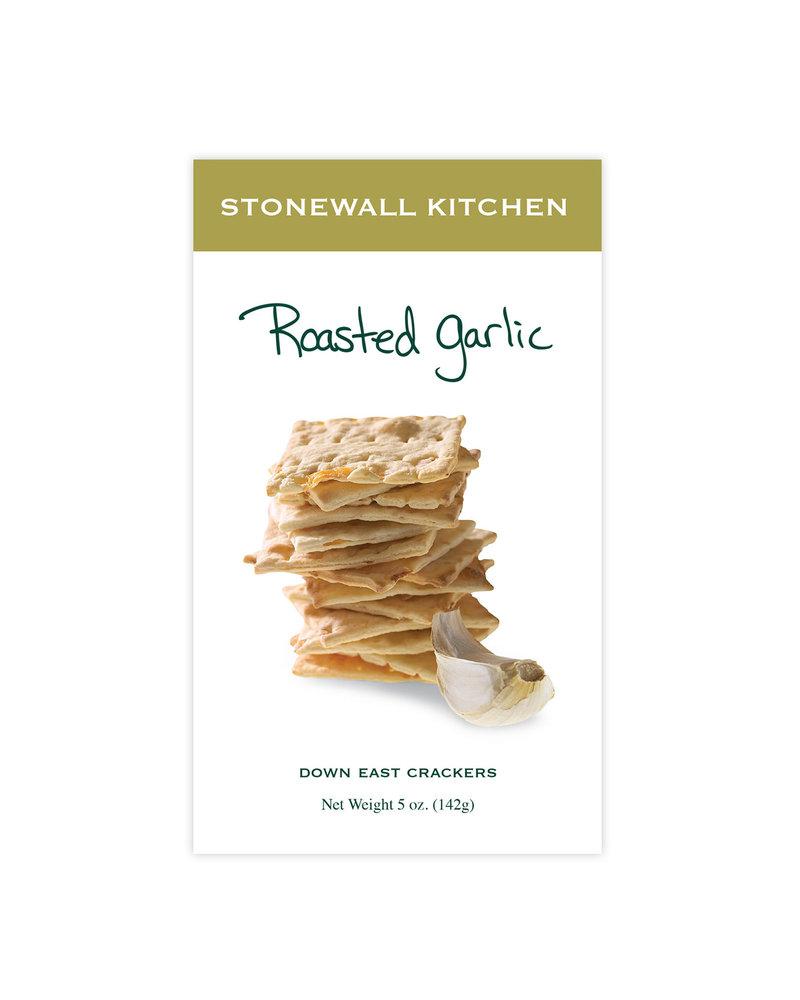Stonewall Kitchen Crackers Roasted Garlic