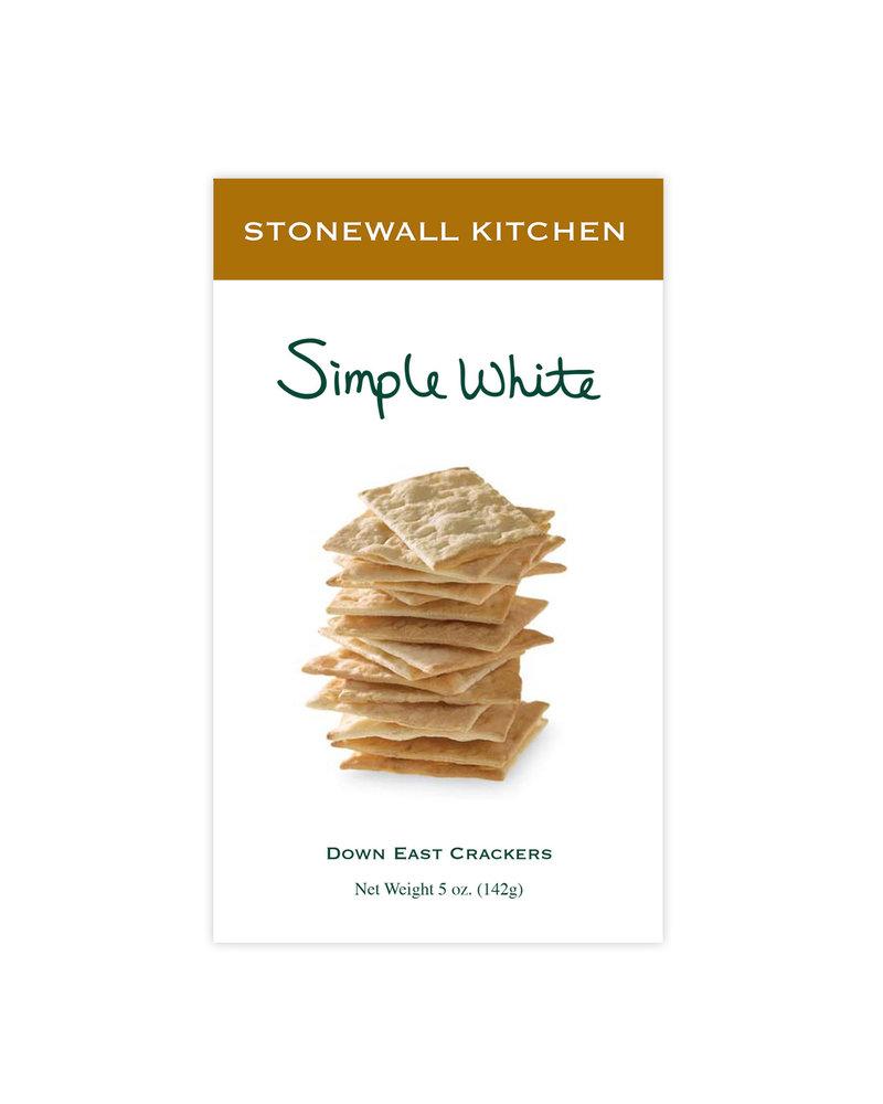 Stonewall Kitchen Simple White Crackers