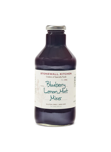 Blueberry Lemon Mint Mixer