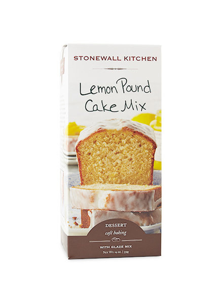 Stonewall Kitchen Lemon Pound Cake Mix