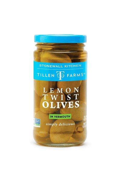 Lemon Twist Stuffed Olives