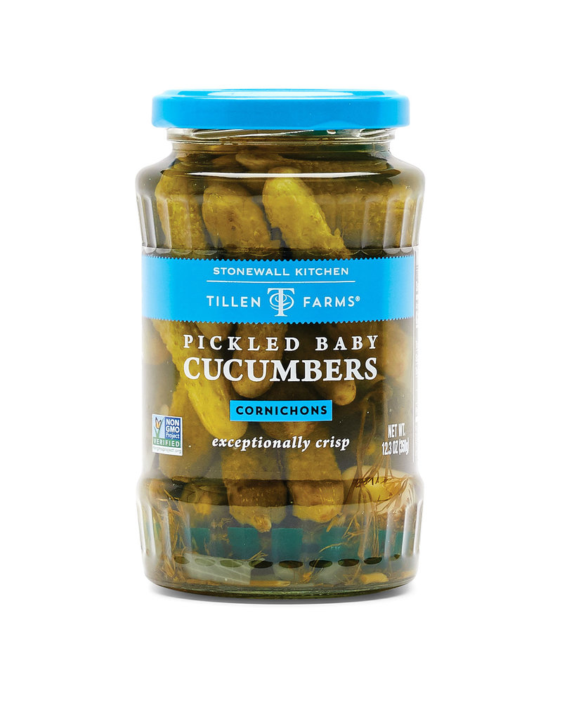 Tillen Farms Cucumbers Baby Pickled