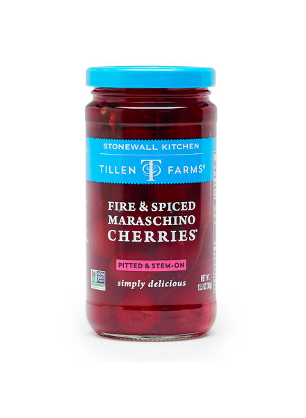 Tillen Farms Cherries Maraschino Fire/Spice