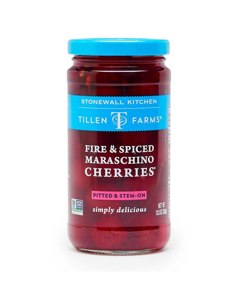 Tillen Farms Cherries Maraschino Fire/Spice
