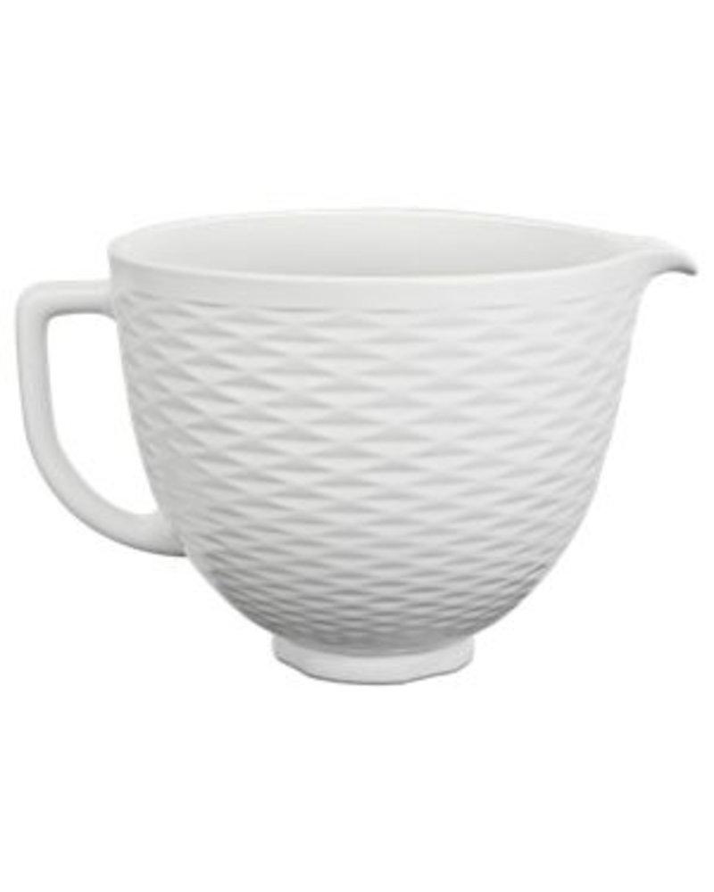 KitchenAid Accessory Bowl 5QT White Diamond