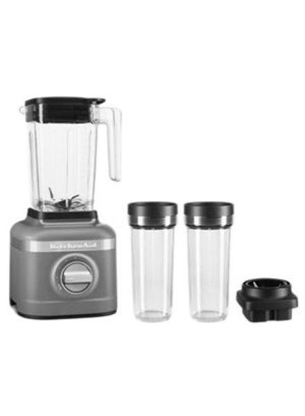 KitchenAid Pandora Blender 48oz/16oz Jars Matte Charcoal Grey