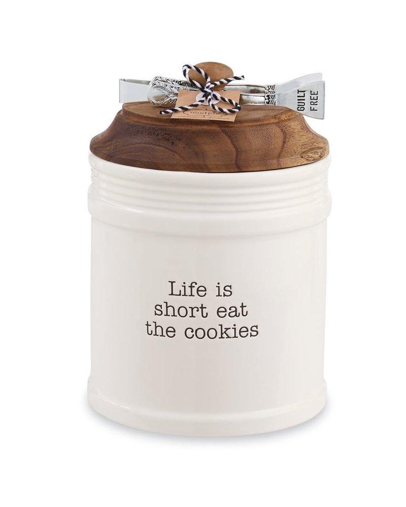 Mud Pie Circa Cookie Jar Set